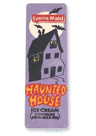 tin sign c637 hounted house retro ice cream popsicle ice cream truck tinworld tinsign_com