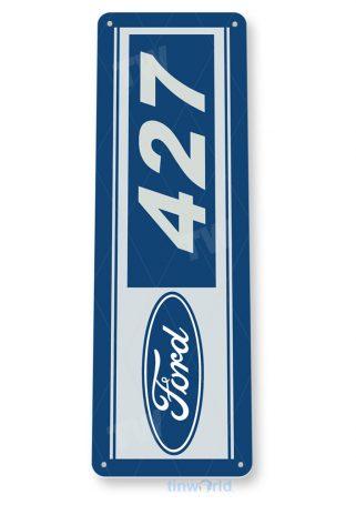 tin sign c683 ford 427 racing retro garage sign auto shop ford sign tinworld tinsign_com
