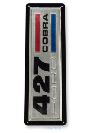 tin sign c685 ford cobra 427 racing retro garage sign auto shop ford sign tinworld tinsign_com