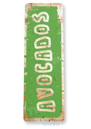 tin sign c839 avocados kitchen cottage farm cafe fresh market avacado sign tinworld tinsign_com