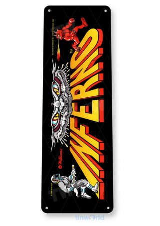 tin sign c938 inferno arcade marquee sign tinworld tinsign_com tinworld tinsign_com