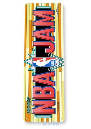 tin sign c974 nba jam arcade marquee sign tinworld tinsign_com tinworld tinsign_com