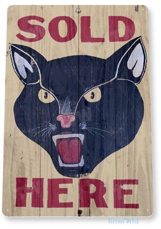 tin sign d050 black cat sign tinworld tinsign_com