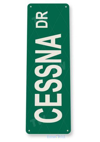 tin sign d051 cessna-dr street sign tinworld tinsign_com
