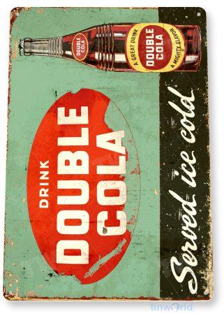 tin sign d055 double cola sign tinworld tinsign_com