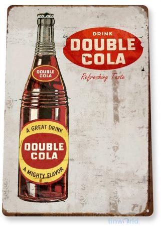 tin sign d056 double cola sign tinworld tinsign_com