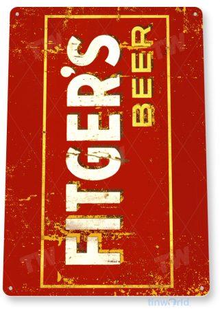 tin sign d058 fitger's beer sign tinworld tinsign_com
