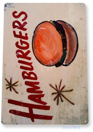 tin sign d061 hamburgers sign tinworld tinsign_com