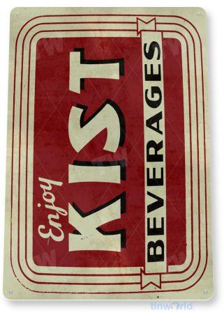 tin sign d064 kist beverages sign tinworld tinsign_com