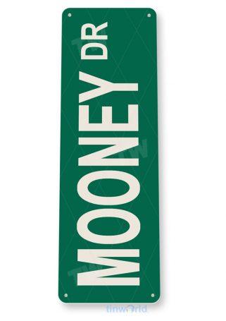 tin sign d066 mooney-dr street sign tinworld tinsign_com