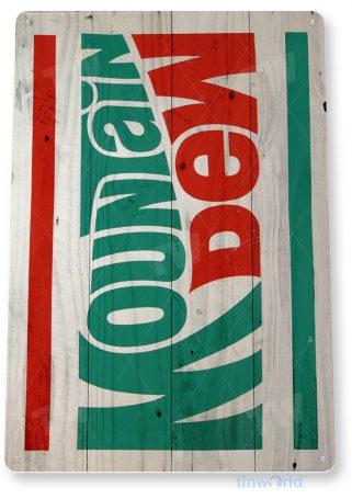 tin sign d067 mountain dew sign tinworld tinsign_com