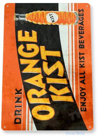 tin sign d068 orange kist sign tinworld tinsign_com