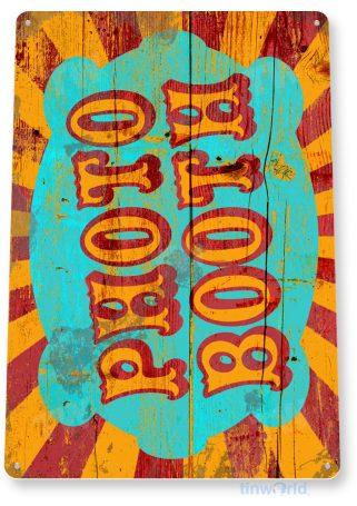 tin sign d072 photo booth sign tinworld tinsign_com