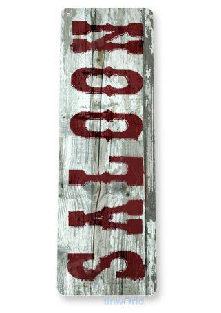 tin sign d076 saloon sign tinworld tinsign_com