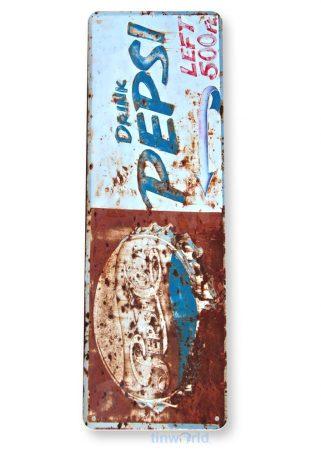 tin sign tin sign a142 pepsi retro rustic rusty sign kitchen cottage farm tinworld tinsign_com