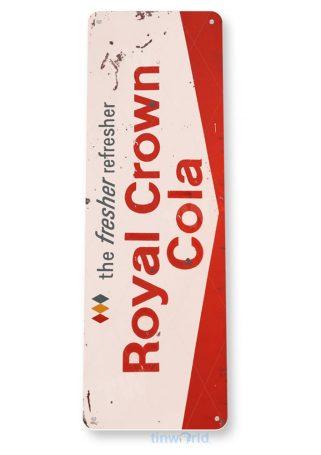 tin sign tin sign a155 rc royal crown fresher vintage soda sign kitchen cottage farm tinworld tinsign_com