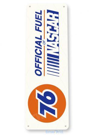 76 nascar retro gas oil sign d078 tinworld tinsign_com