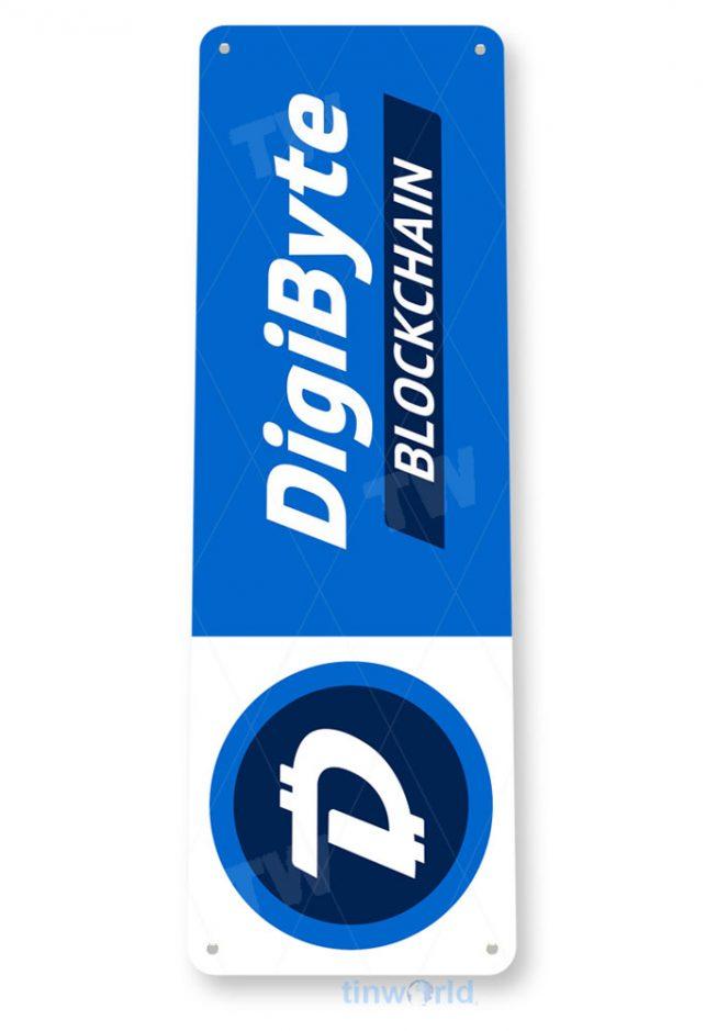 d085 digibyte crypto coin sign tinworld tinsign_com