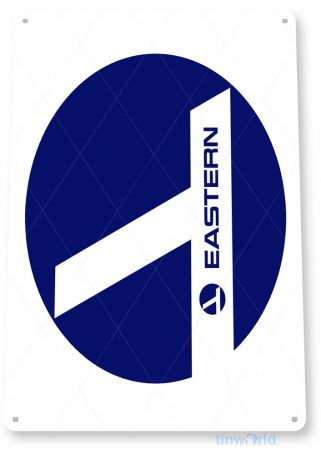d087 eastern airlines retro airline aviation sign tinworld tinsign_com