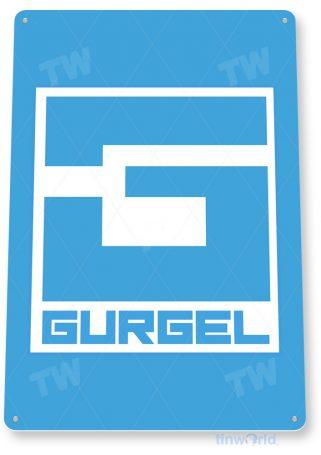 d091 gurgel retro automobile sign tinworld tinsign_com