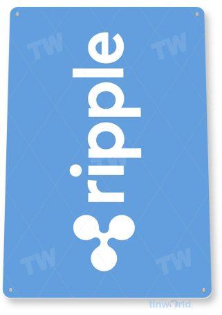 d100 ripple crypto coin sign tinworld tinsign_com