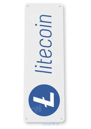 d119 litecoin crypto coin sign tinworld tinsign_com