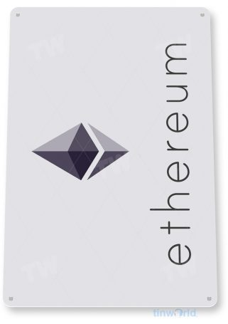 d126 ethereum crypto coin sign tinworld tinsign_com