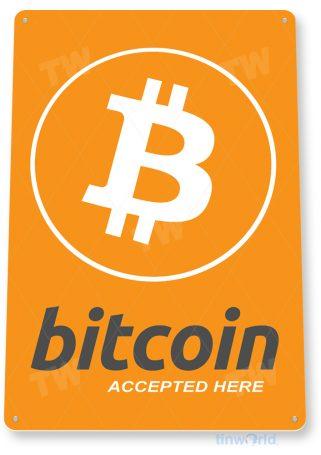d139 bitcoin crypto coin sign tinworld tinsign_com