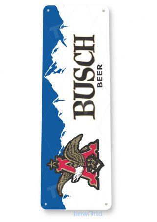 d147 busch beer sign tinworld tinsign_com