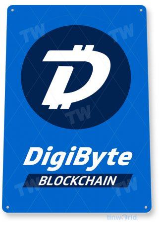 d152 digibyte crypto coin sign tinworld tinsign_com