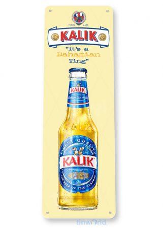 d158 kalik bahamian beer sign tinworld tinsign_com