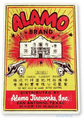 d159 alamo fireworks sign tinworld tinsign_com