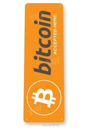 d170 bitcoin sign tinworld tinsign_com