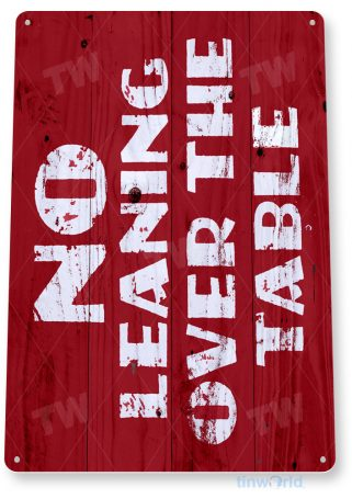 d177 carnival table sign tinworld tinsign_com