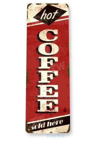 d185 coffee sign tinworld tinsign_com