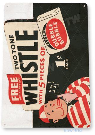 d194 double bubble gum sign tinworld tinsign_com