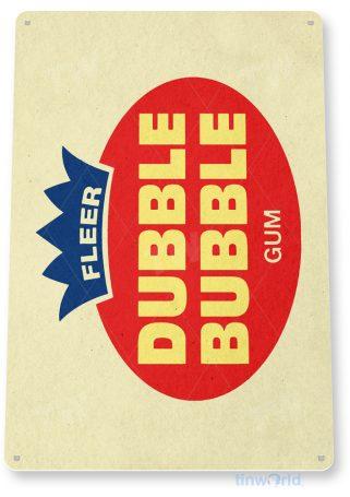 d195 double bubble gum sign tinworld tinsign_com