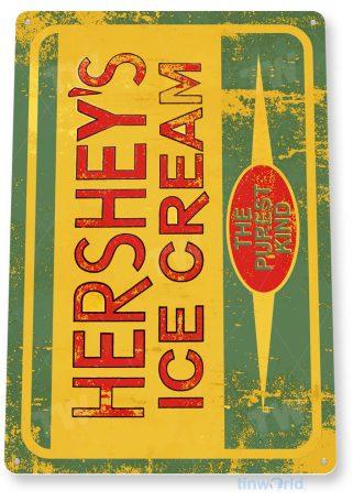 d201 hershey's ice cream sign tinworld tinsign_com