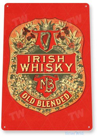 d204 irish whisky sign tinworld tinsign_com