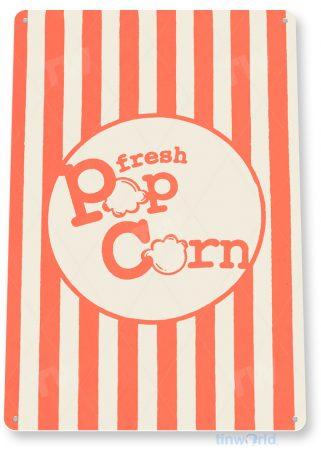 d237 popcorn sign tinworld tinsign_com